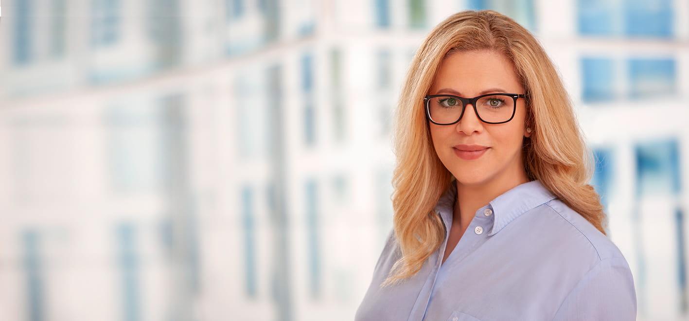 Portrait von Frau Dorena Fehlinger aus dem Inbound-Telefon-Team